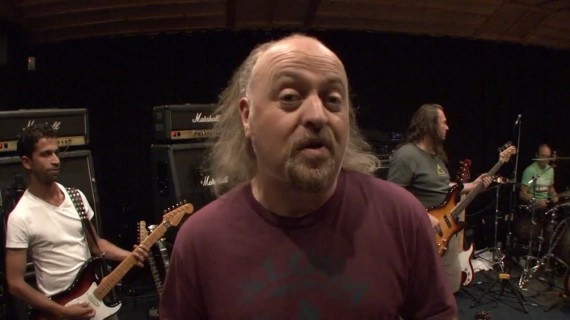 Bill Bailey's message to Metallica