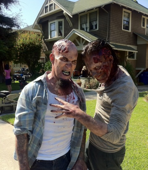 Scott Ian in The Walking Dead
