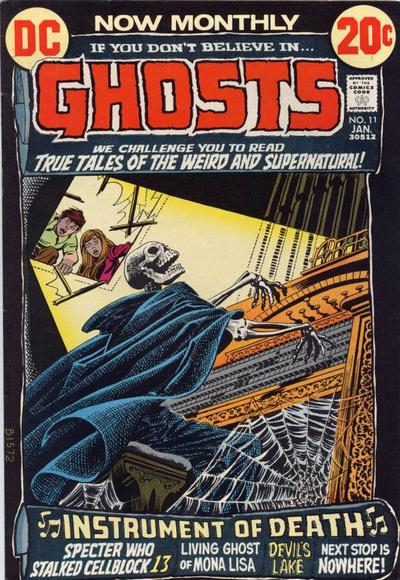 Nick Cardy - Ghosts #11: Instrument Of Death