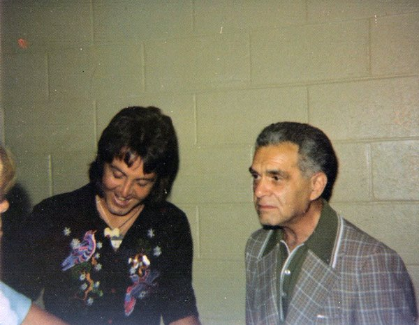 Paul McCartney with Jack Kirby