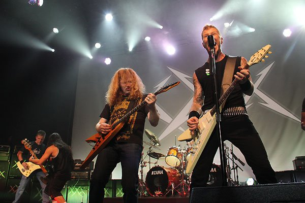 Metallica 30th anniversary w/ Dave Mustaine, Ron McGovney