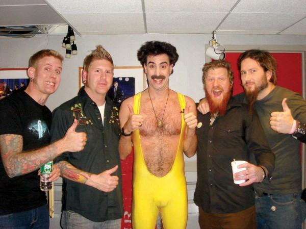 Mastodon & Borat