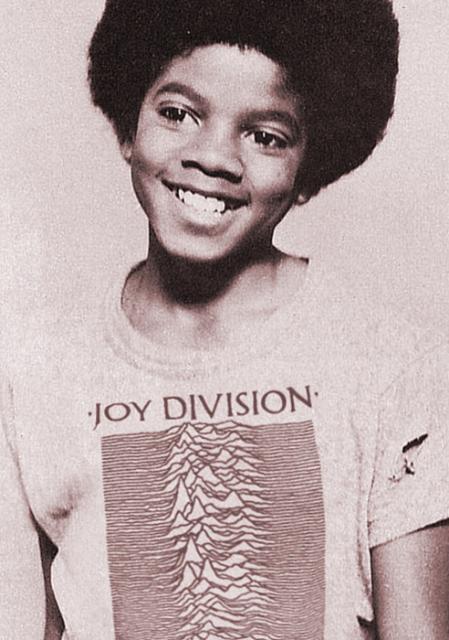 Michael Jackson × Joy Division