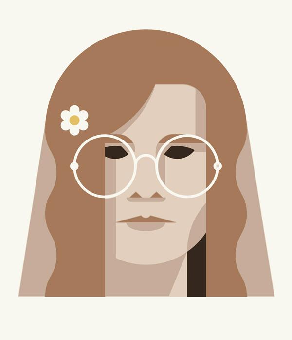 """""""27 Club"""" Art Print: Janis Joplin"""