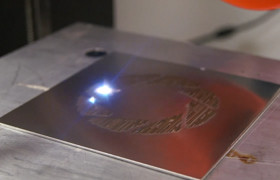 Portal's 'Still Alive' Played by Fiber Laser