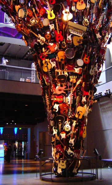Guitar Tornado, Experience Music Project in Seattle