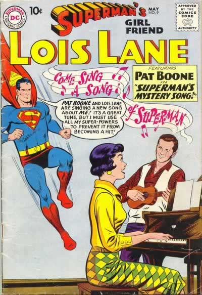 Superman Meets Pat Boone