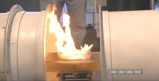 DARPA Demos Acoustic Suppression of Flame
