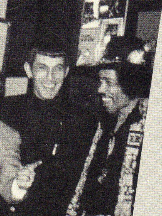 Leonard Nemoy & Jimi Hendrix