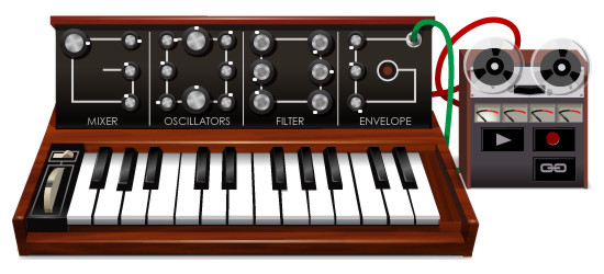 Robert Moog's 78th Birthday Google Doodle