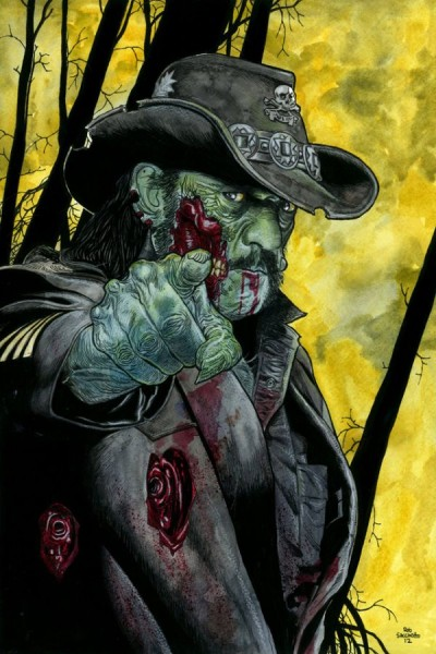 Lemmy Kilmister : Motörhead Zombie Portraits