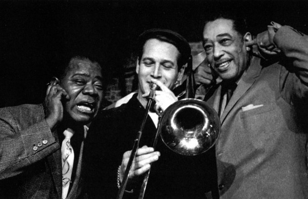 Louis Armstrong, Paul newman & Duke Ellington